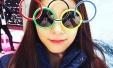 유스 올림픽 김연아 '여왕의 선글라스'
