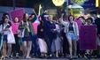강남 살인사건에 분노한 여성들의 행진
