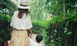 백종원-소유진 아들, 놀이동산 나들이