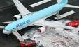 319명 탄 대한항공기 일본서 화재