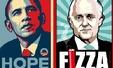 호주 총선..총리 풍자 포스터 큰 인기