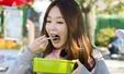 '런닝맨' 강민경, 여신의 먹방