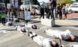 '백남기 농민 위해 거리로 나온 불자들'