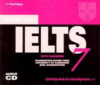 Cambridge IELTS 7 : Audio CD (CD:2/ 교재별매)