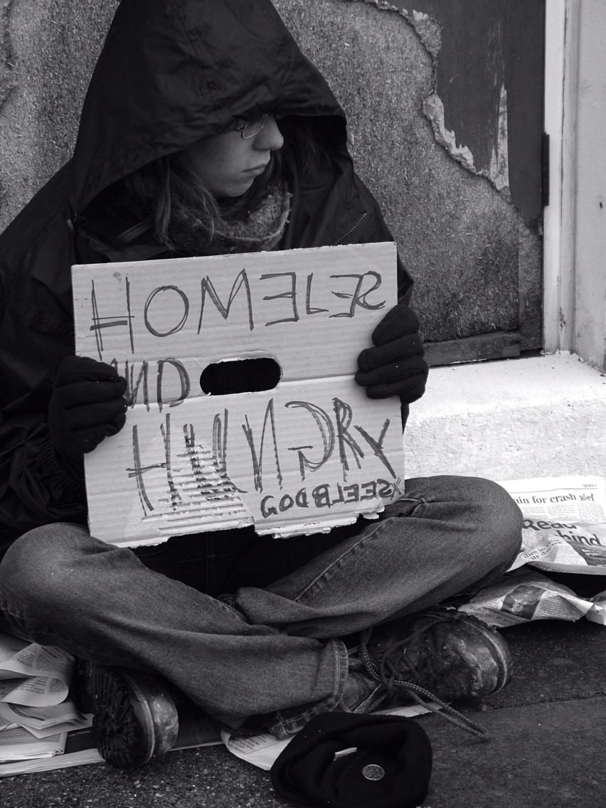최저 기온 4도, 비가 내린 날 - 어느 노숙인의 고백