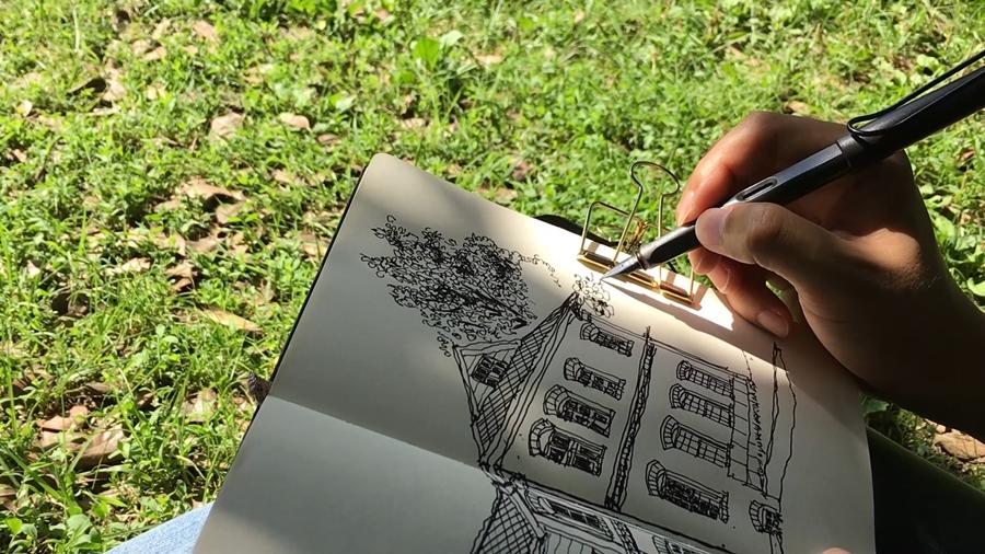 #1-양림동 - 야외 스케치의 매력