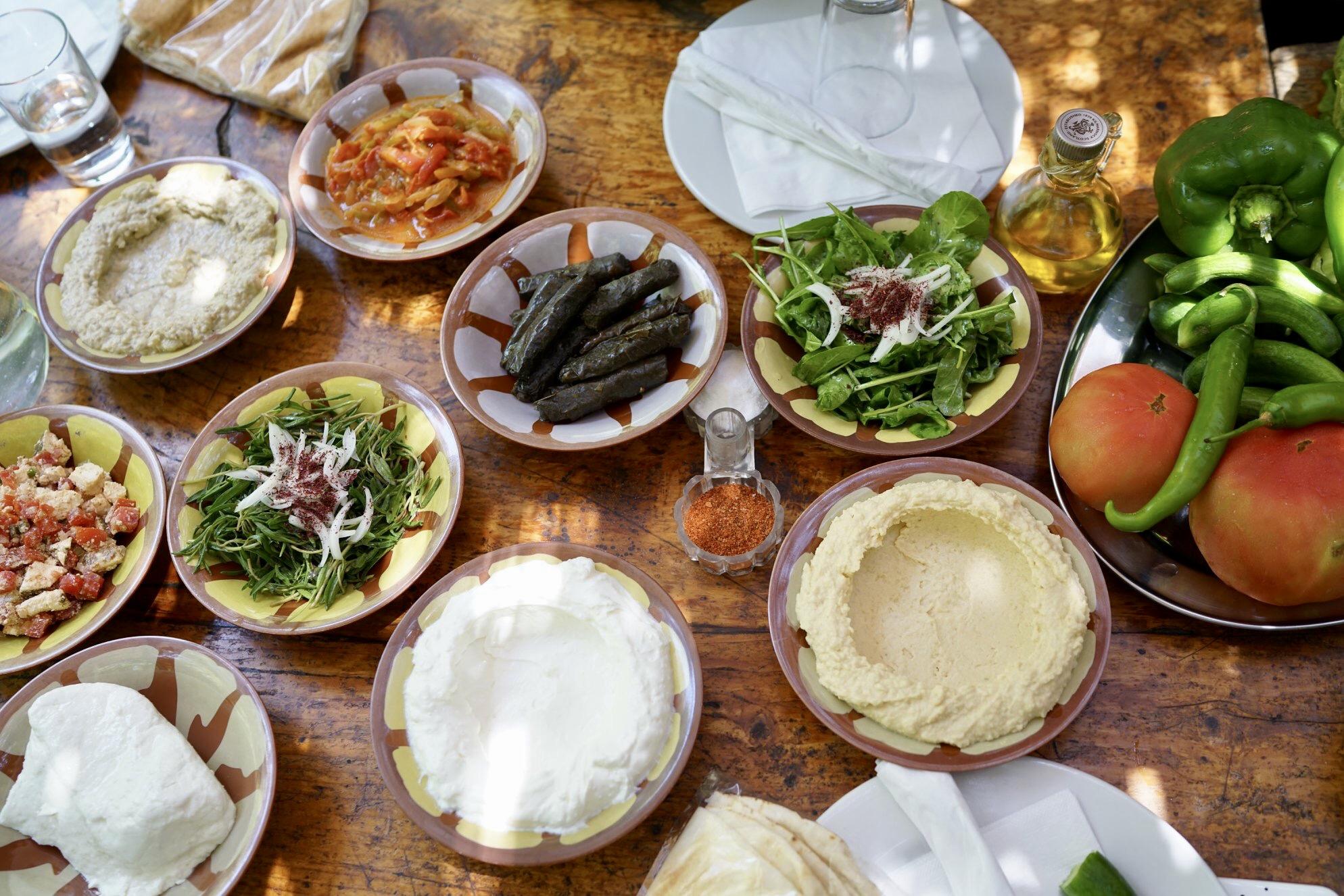 중동의 꽃, 레바논 식탁 - 내가 사랑한 레바논 음...