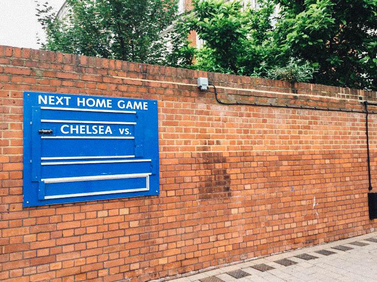 영국 런던 - 첼시 스탠포드 브릿지에서 이룬 꿈