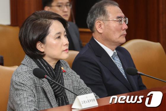 유은혜 교육부 장관께 드립니다
