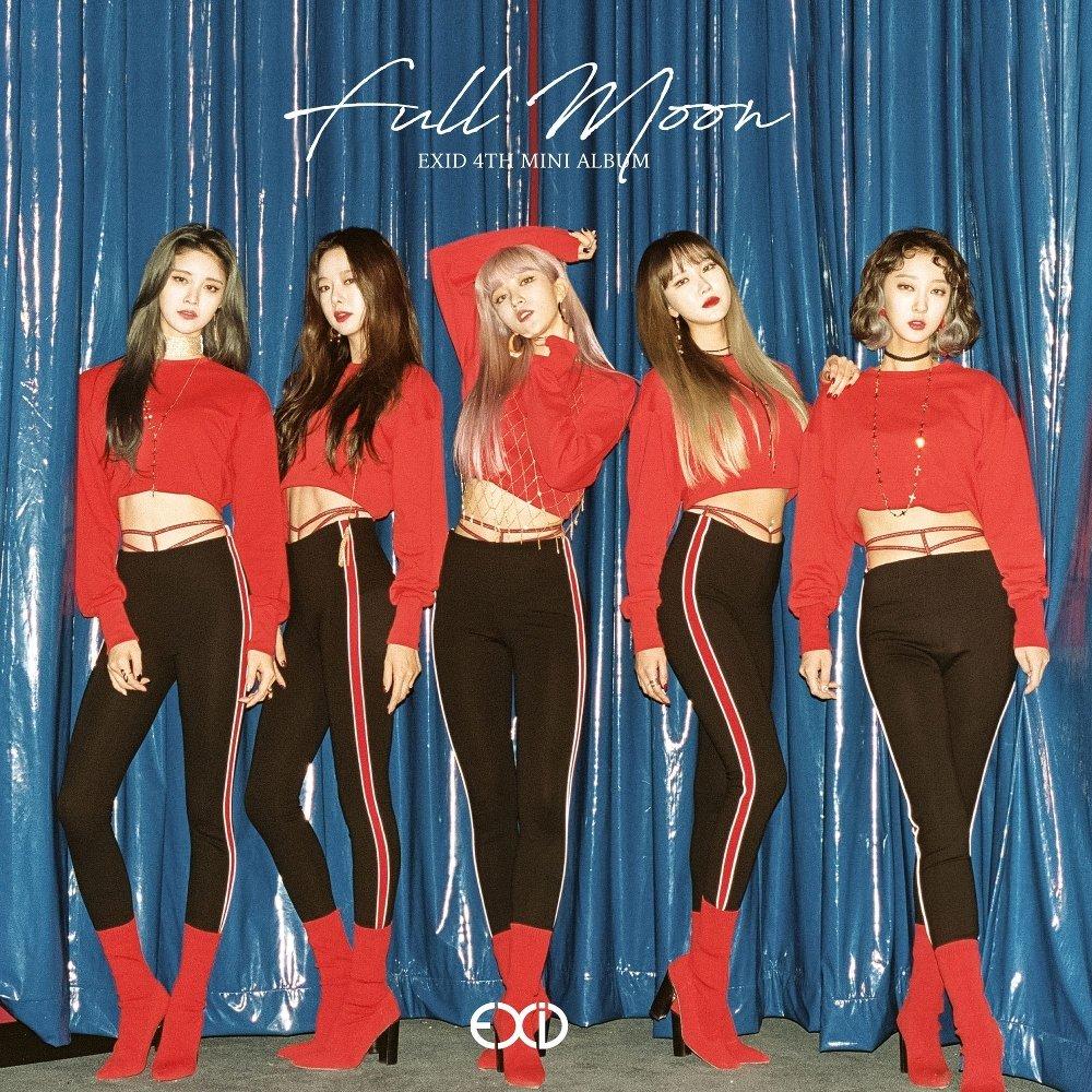 EXID - FULL MOON 넷이 아닌 다섯의 음악 - 2017년...