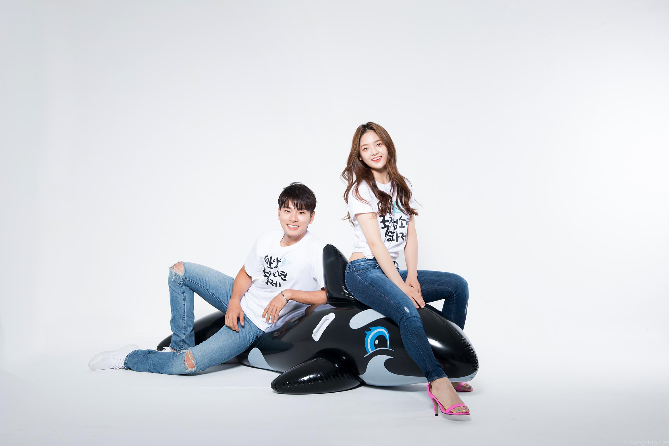 안양 국제 청소년 영화제 포스터촬영 - 이이경과 ...