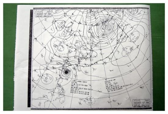 태풍 15호 장미 - 장미란 이름, 가시가 있어서인가?