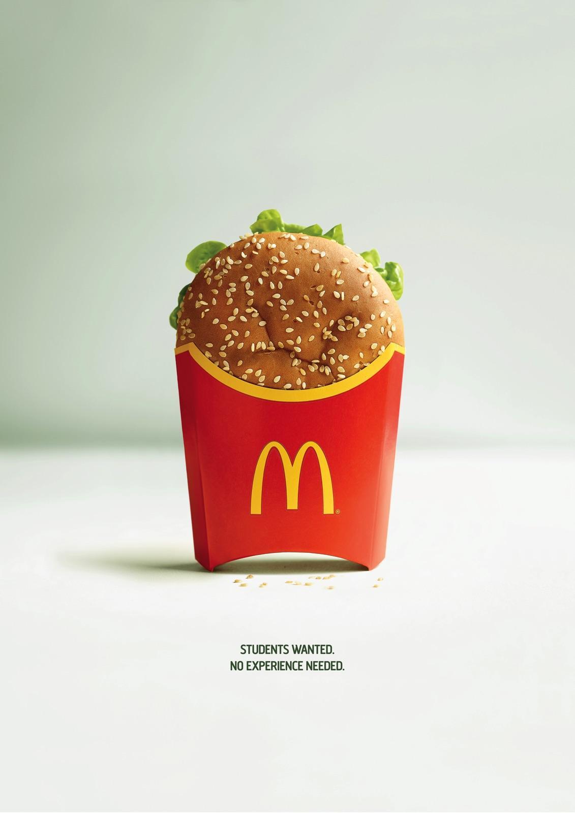 맥도날드 햄버거의 엉뚱한 실수