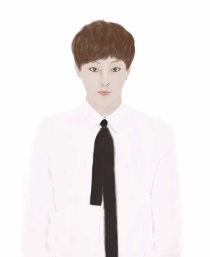 Digital art_#2 - EXO 시우민