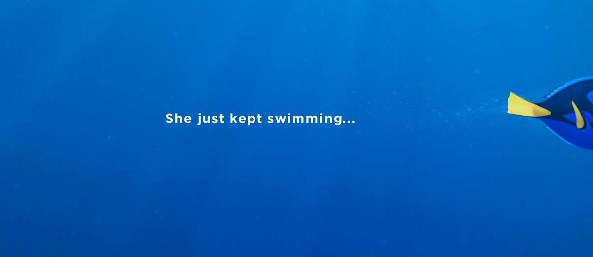 계속 수영해 나가는 것 - <도리를 찾아서> 앤드류 ...