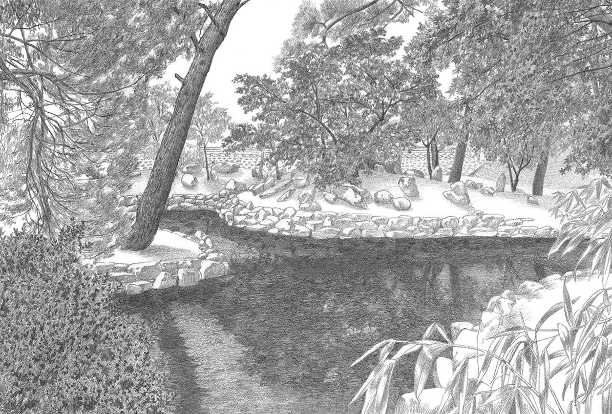 연필로 그린 고택 정원 15. 의성 소우당(1/2)