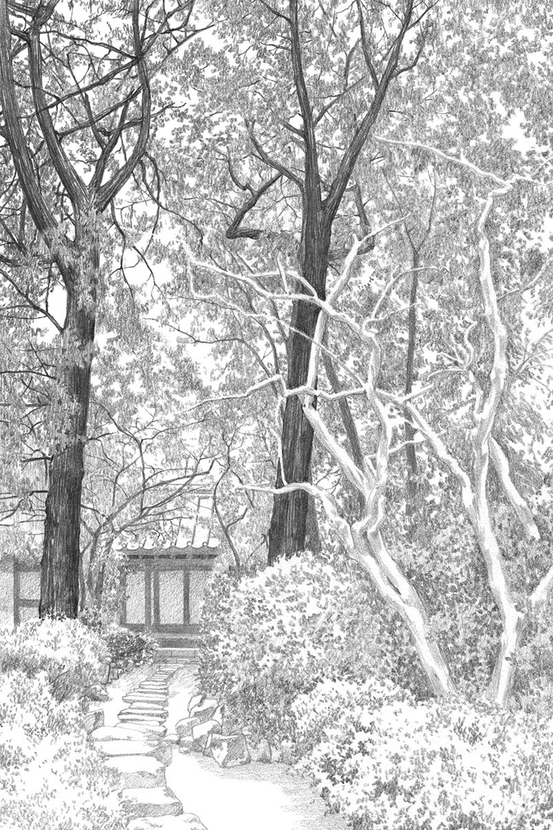 연필로 그린 고택 정원 16_의성 소우당(2/2)