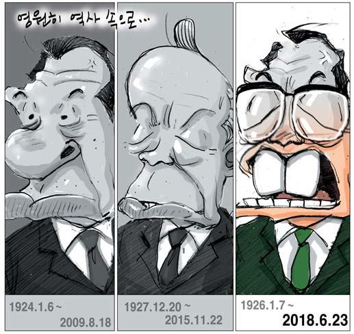 삼金시대 (#1) - 박정희와 전두환 정권에서의 3金