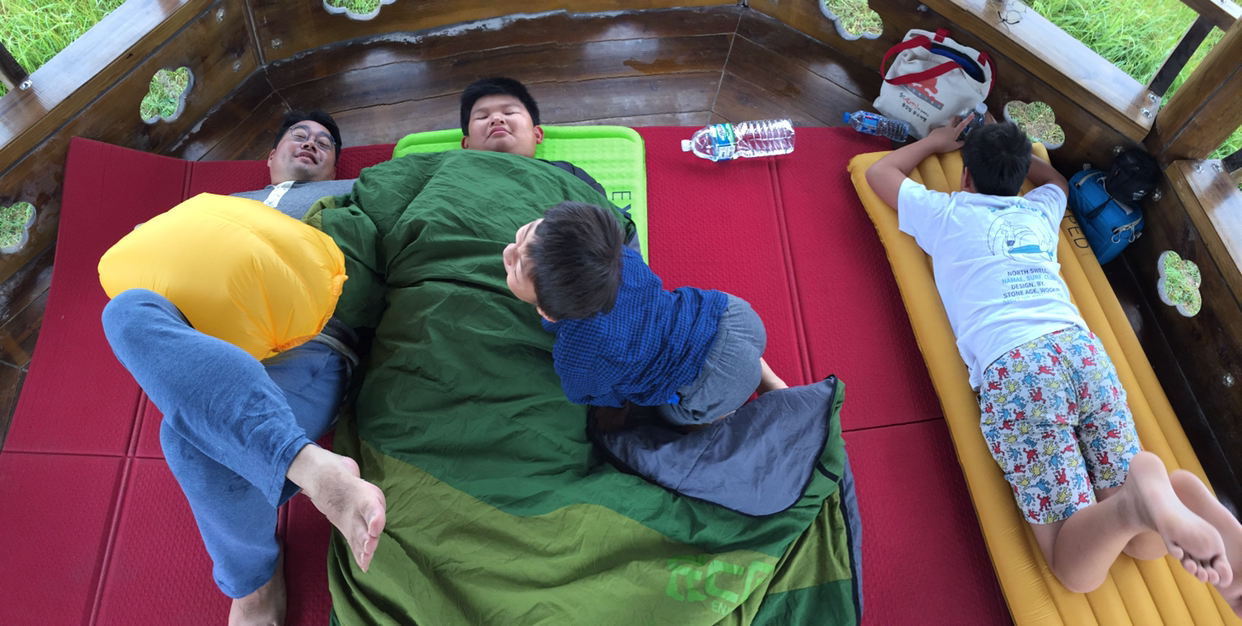 < 제주캠핑 > 협재 해변 캠핑 - 긴급 재난 문자와 ...