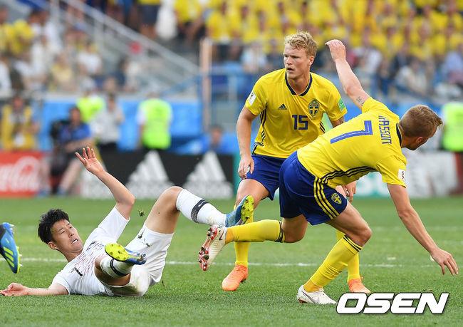 월드컵 관전기 - 한국과 스웨덴전