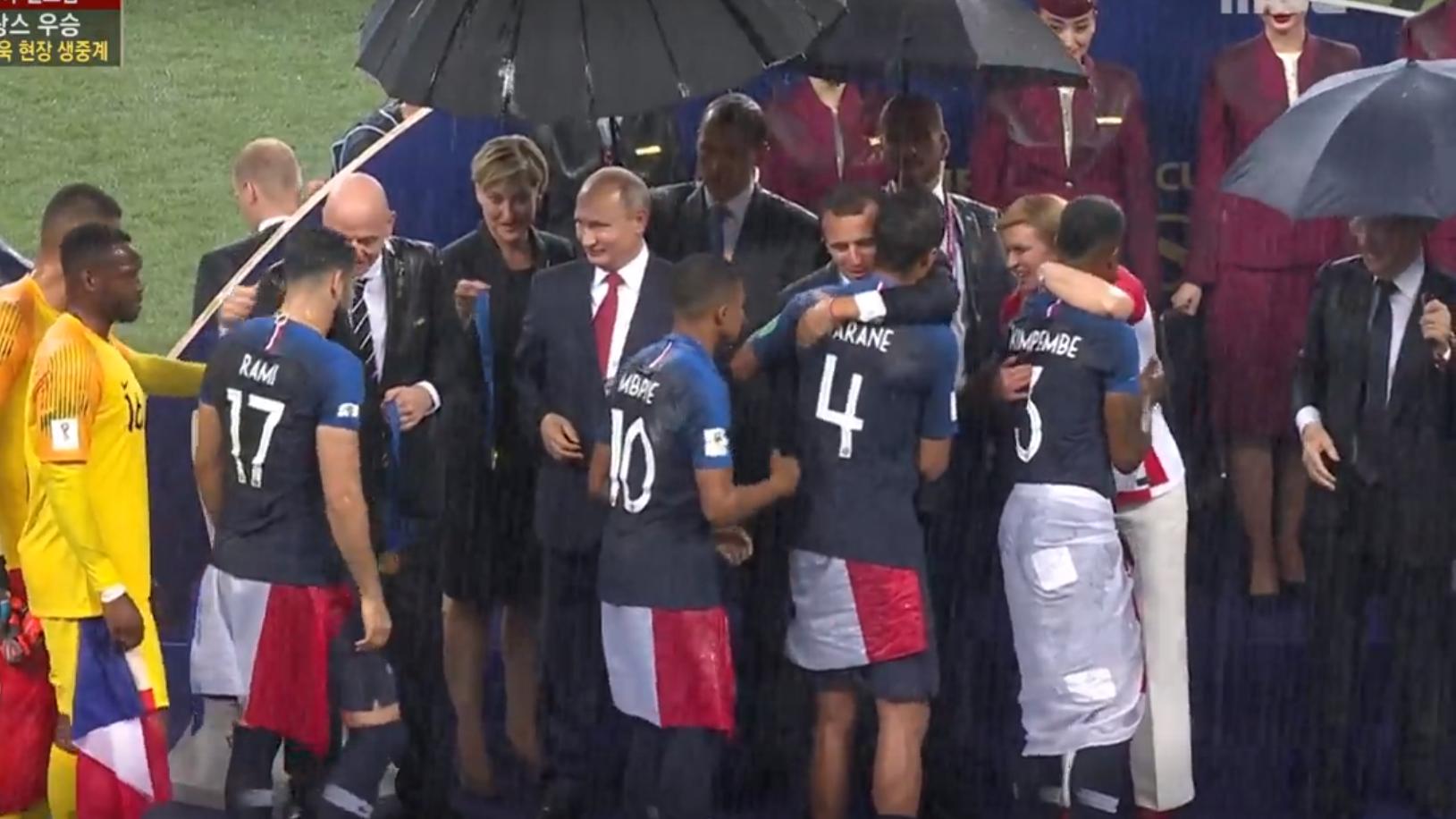 2018 러시아 월드컵 결승전이 끝나고 - 프랑스와 ...