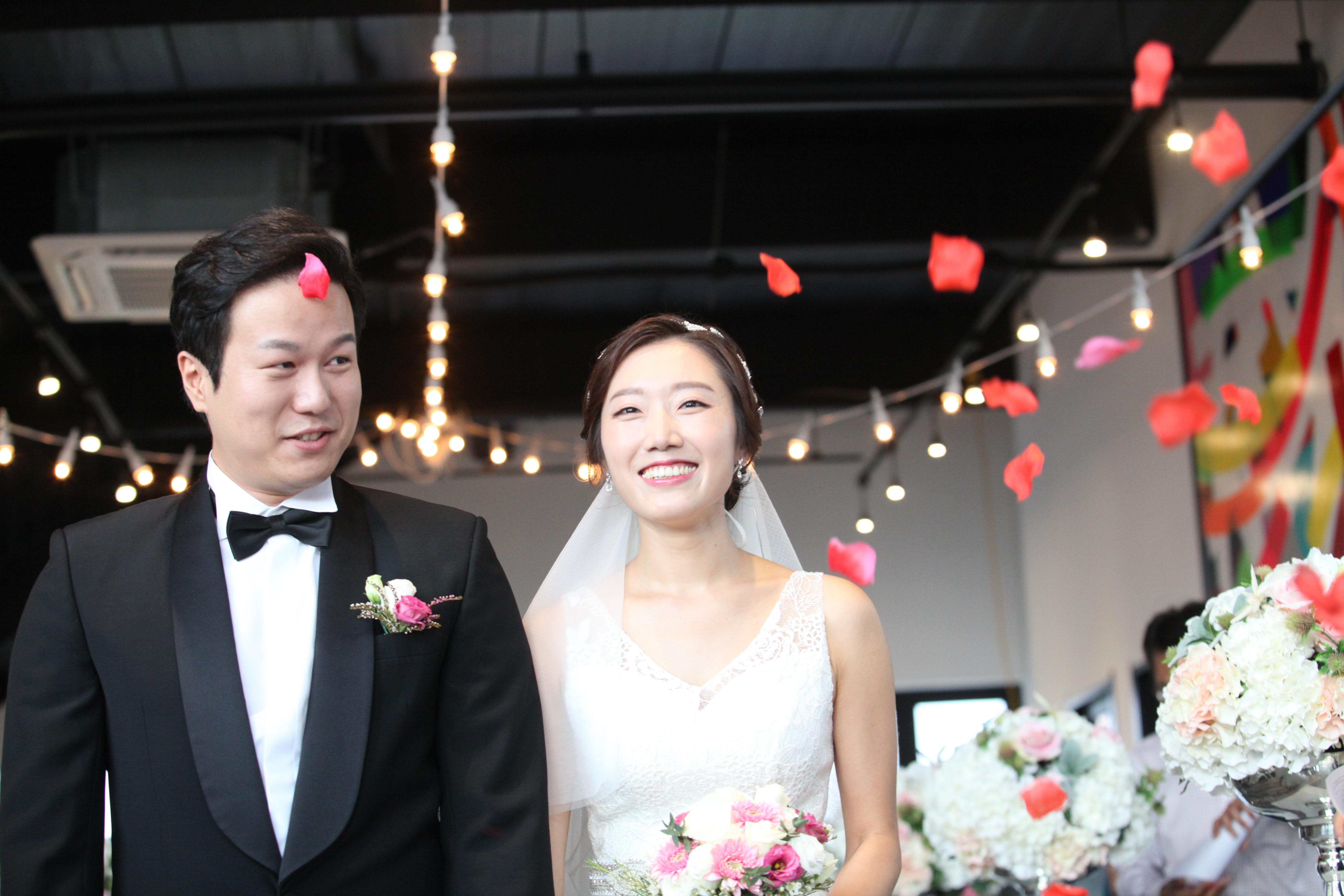 나의 결혼식 - 태풍과 함께한 잊지 못할 결혼식