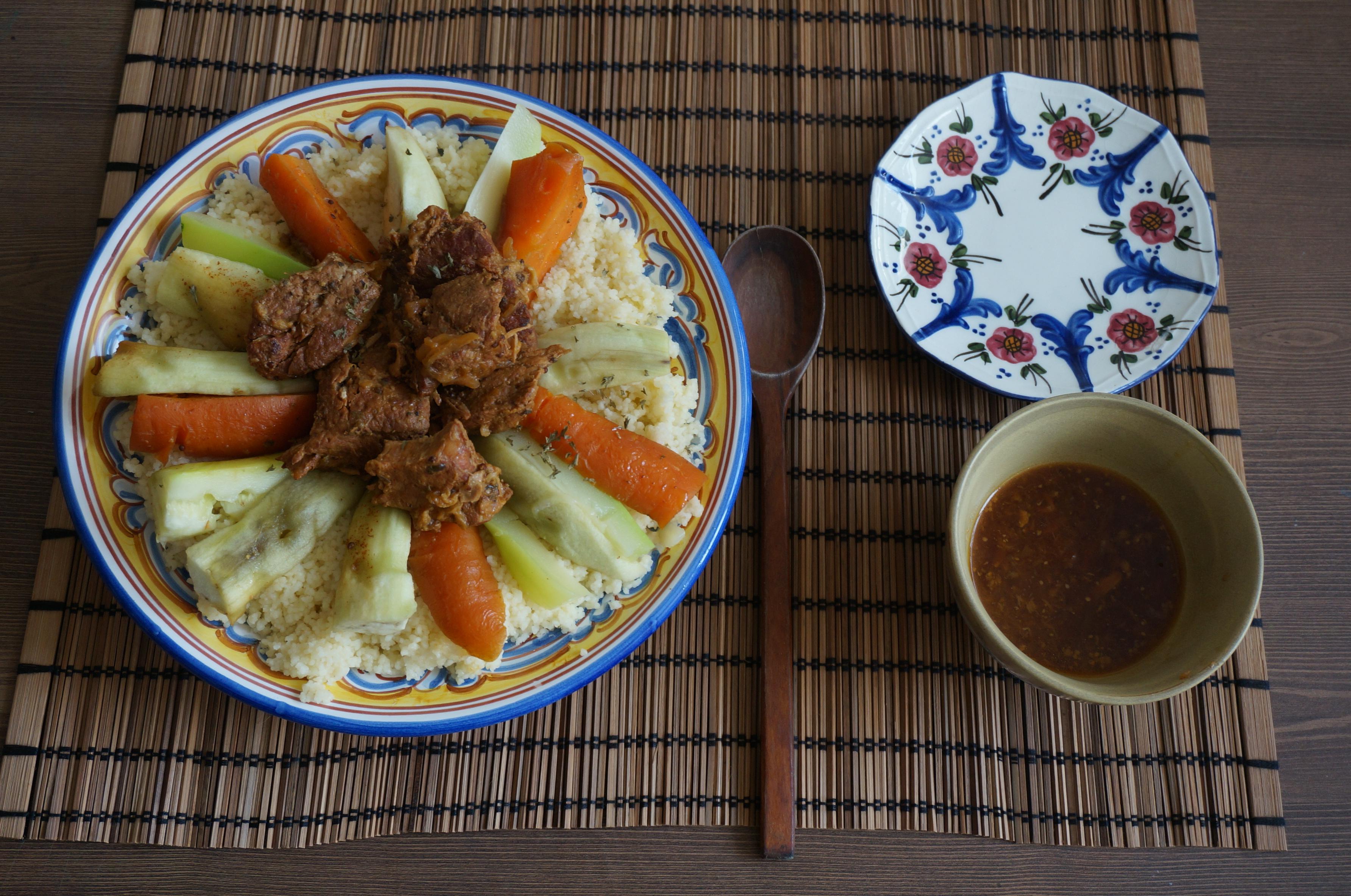 모로코식 쿠스쿠스 요리 - 자취방에서 모로코 여행