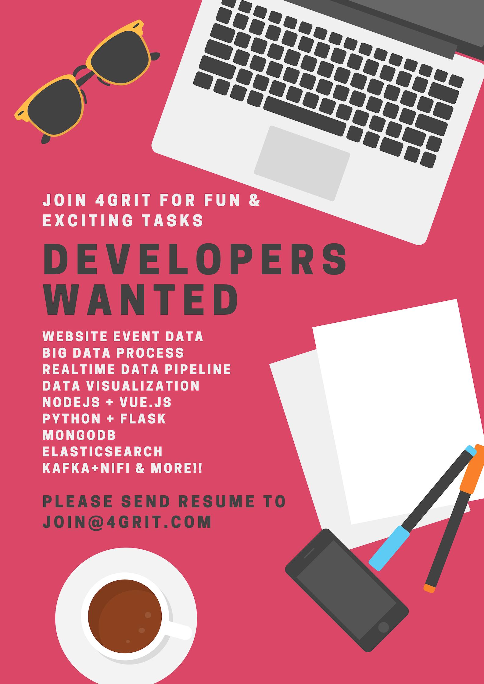 채용- 빅데이터 플랫폼을 함께 구축할 개발자를 모...