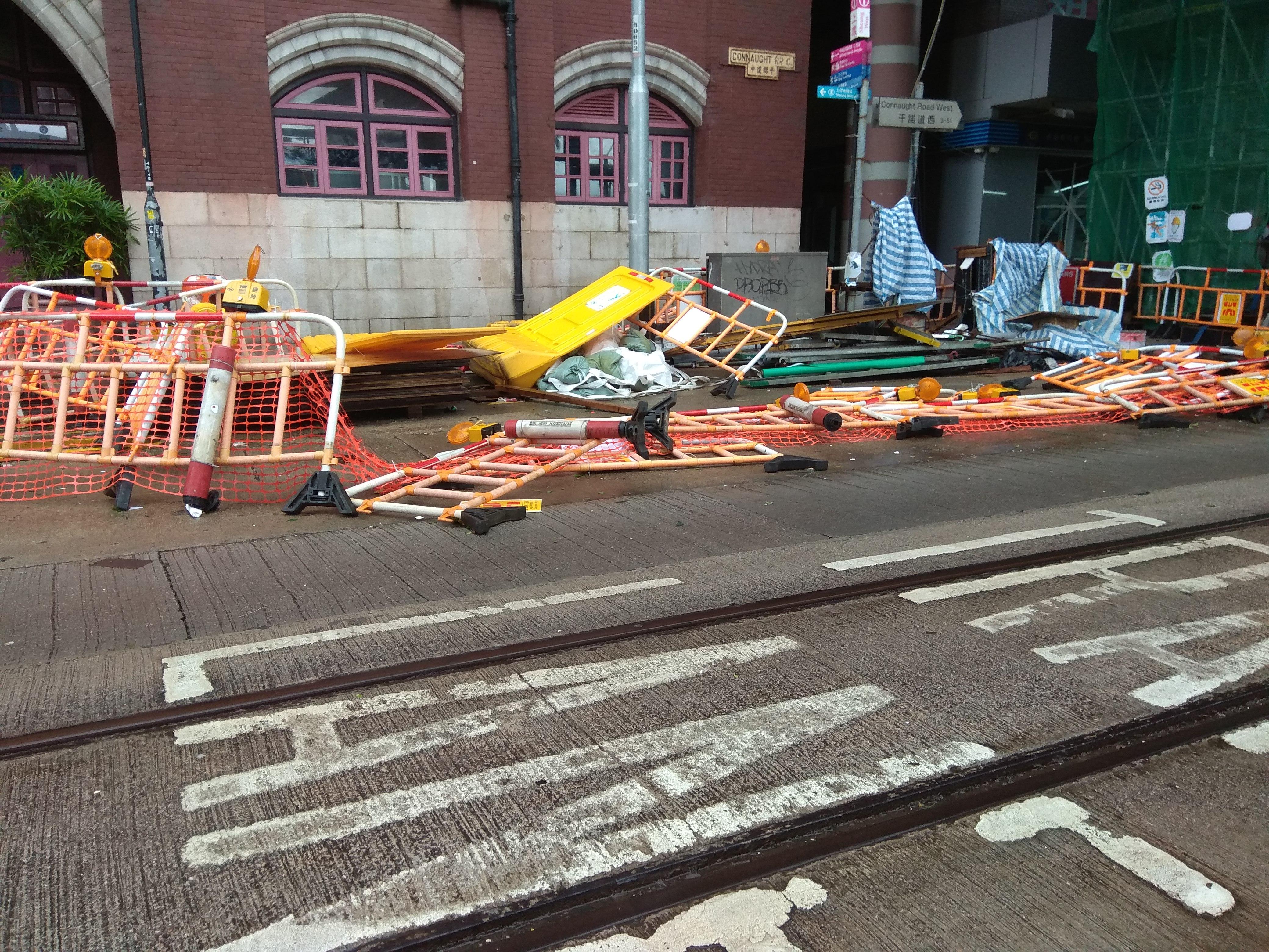 태풍이 지나간 자리 - 5년 만에 홍콩을 찾은 어마...