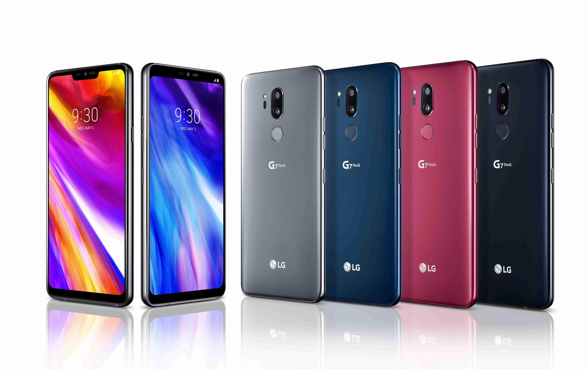 LG G7 ThinQ 공개, 디자인 및 주요 특징은? - LG전...