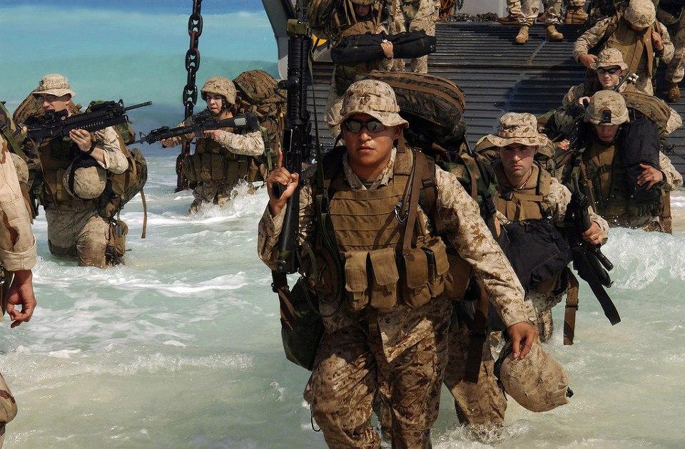 단숨에 전세를 뒤집을 수 있는 해병대를 갖춘 국가...