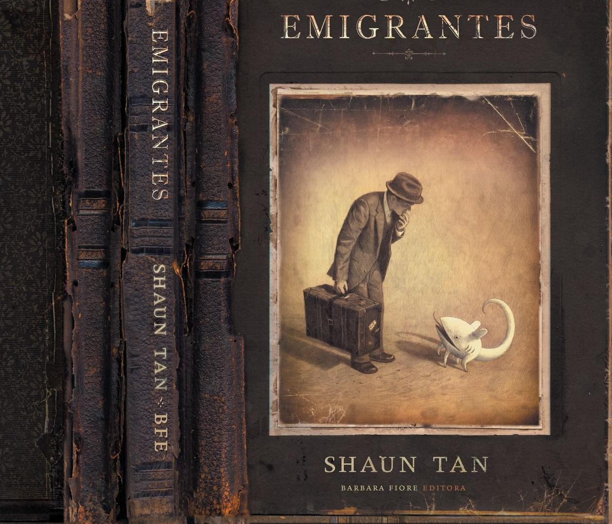숀 탠 Shaun Tan, 도착 arrival - 판타지는 괴물의...