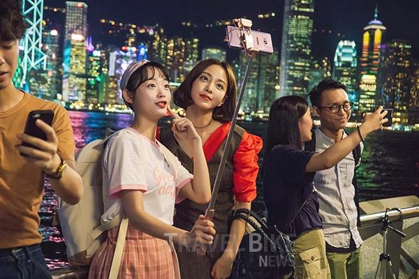 한예슬, 그녀가 사랑한 도시 '로맨틱 홍콩' - 침...