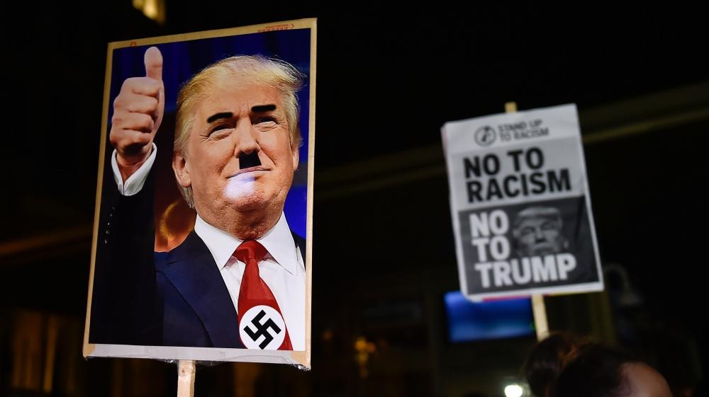 트럼프 미국 대통령의 주기적인 인종차별적 발언