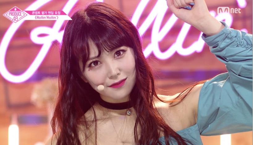 180817 Mnet 프로듀스48 10회 - 암울한 상황에서 ...