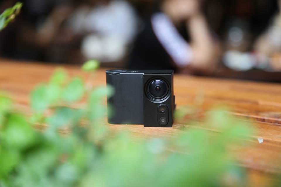 렌즈 교체가 가능한 액션 카메라, Laibox Cam - 드...