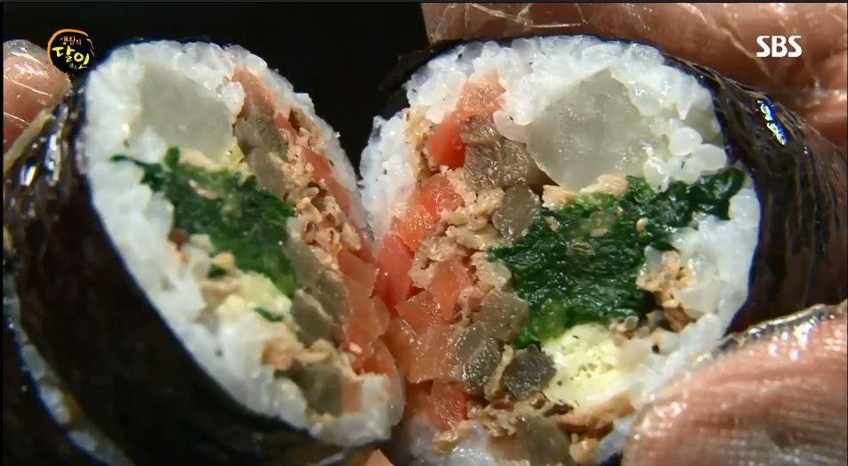생활의 달인 614회 서울 3대김밥 - 소풍가는 날씨...