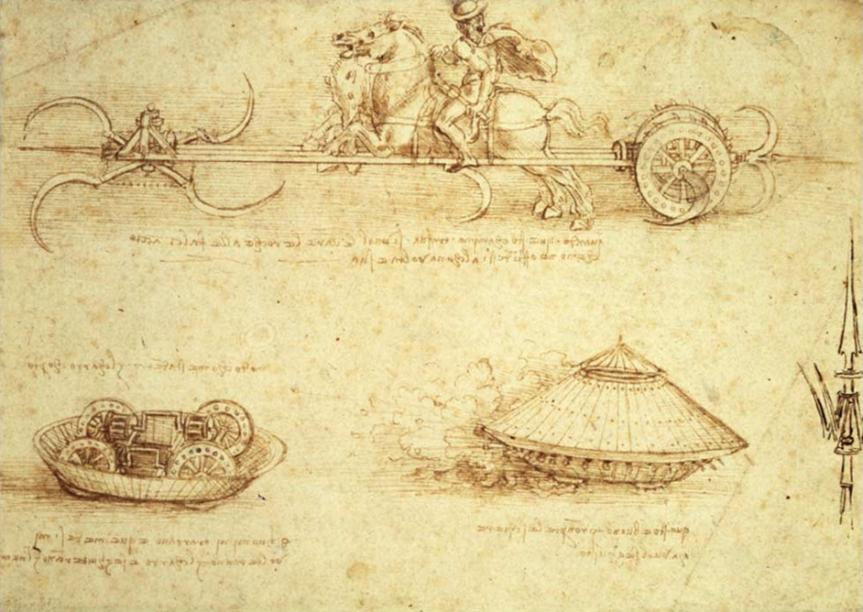 나는 병기 제작 전문가다 : 레오나르도 다빈치