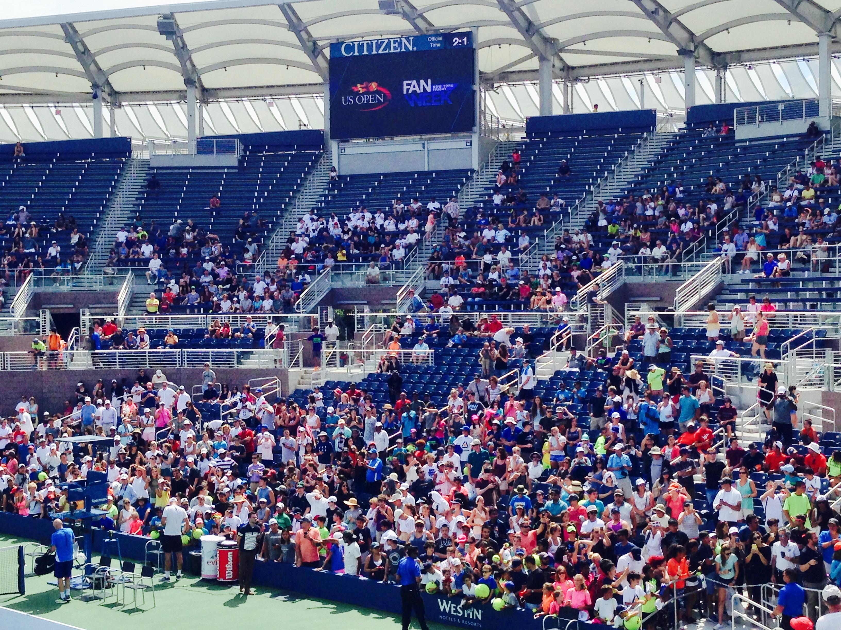 US Open Tennis Fan Week - 세계적인 스포츠 축제 ...