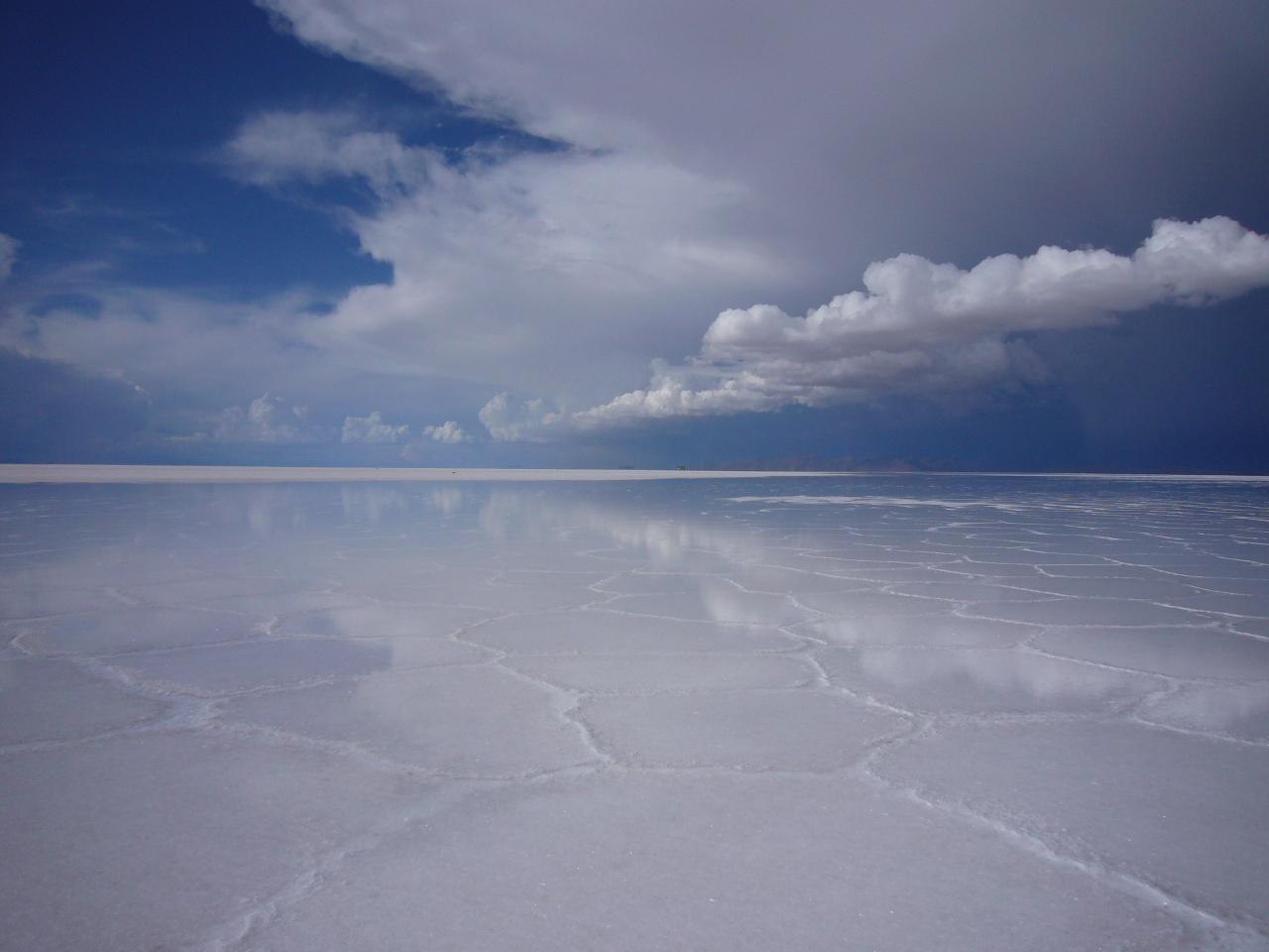 눈 감고 걸어보기 - 볼리비아 우유니 사막