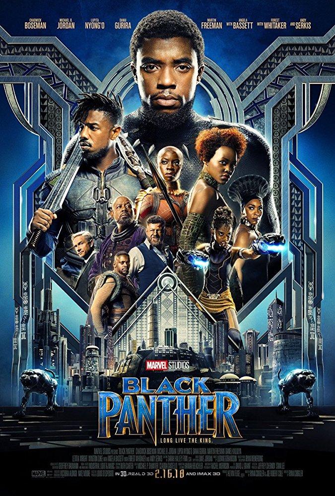 아프리카 와칸다 왕자의 고난기 - - 블랙팬서(2018)