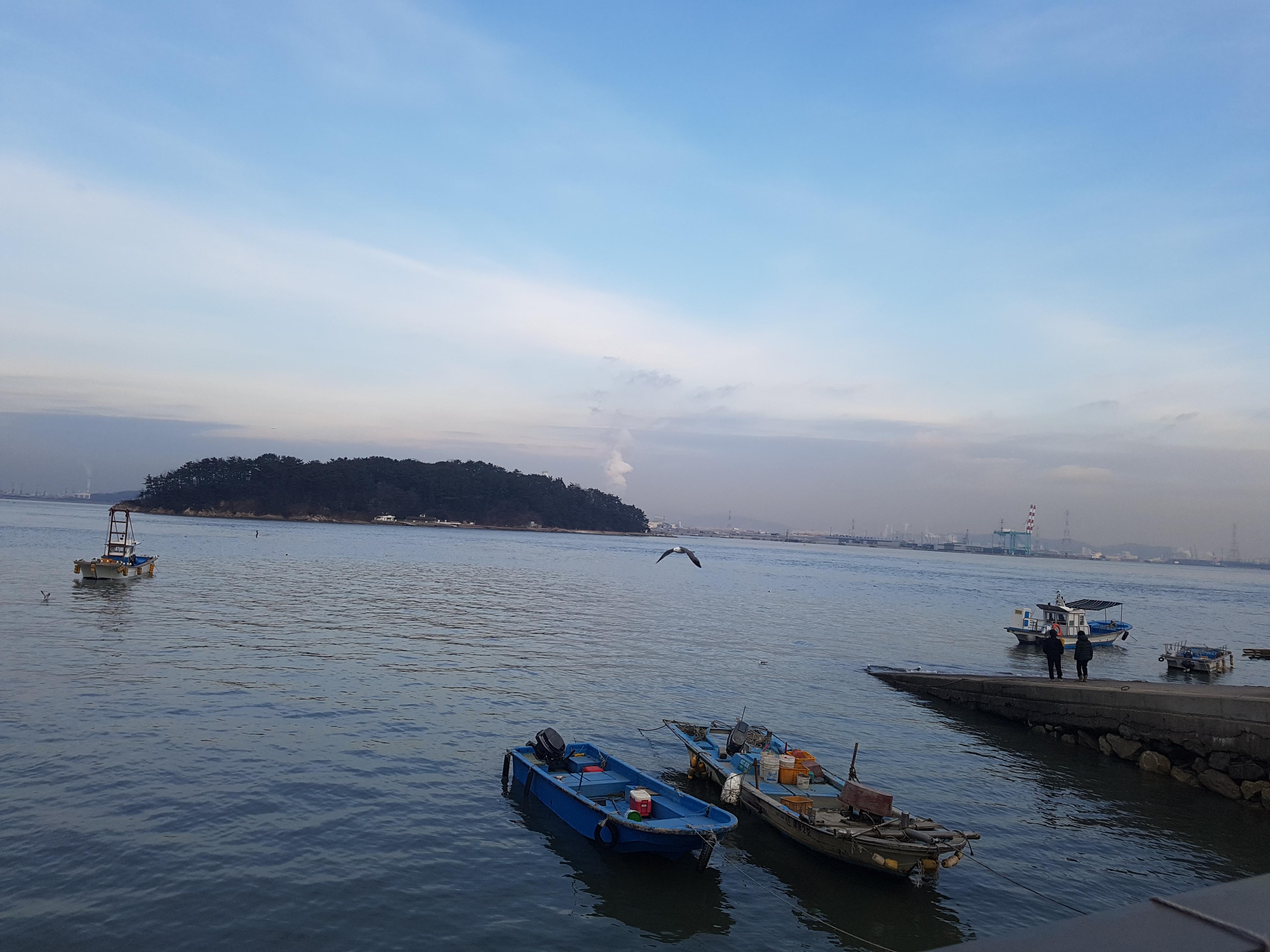작년말, 인천 영종도 겨울 바다 - 한여름에 떠올리...