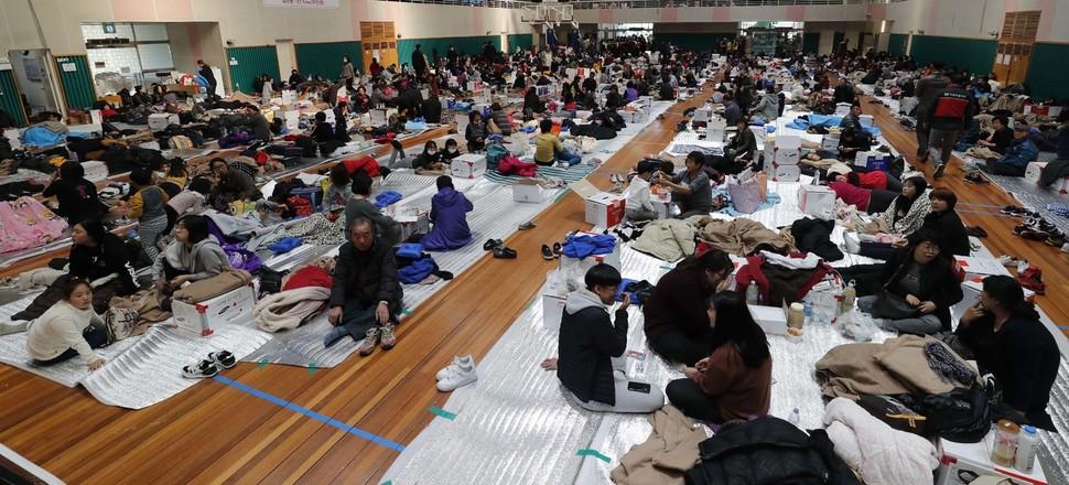 뒤늦게 쓰는 포항 지진 재난 현장
