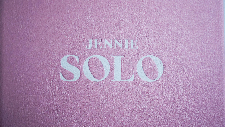 SOLO Photobook - SOLO│제니(블랙핑크)