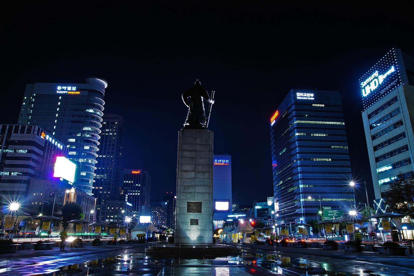 06화 야경기행, 이순신 장군의 뒷모습 - 서울 종로...