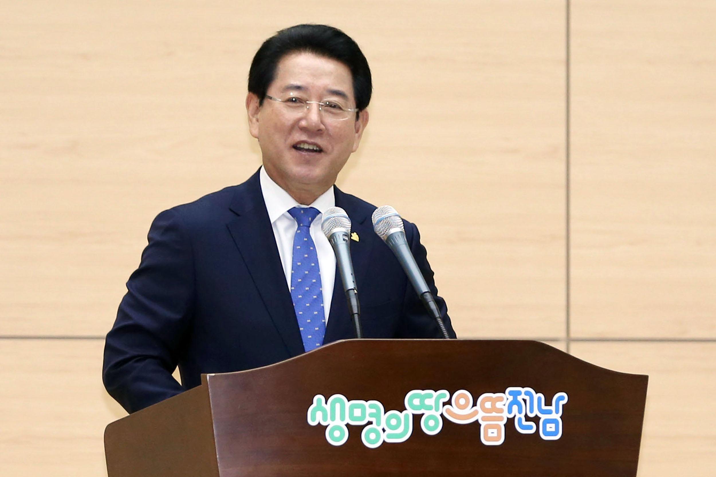 """김영록 전남지사 """"국토부, 목포-보성 전철화 추진..."""