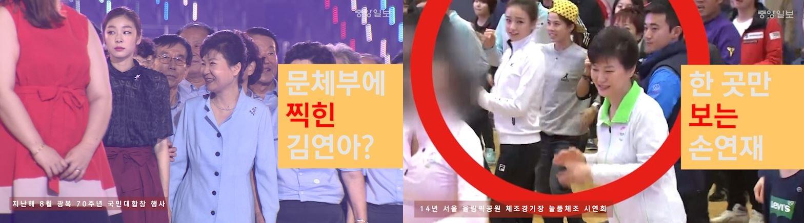 박근혜와 김연아, 손연재 : 비겁한 마녀사냥 - 313
