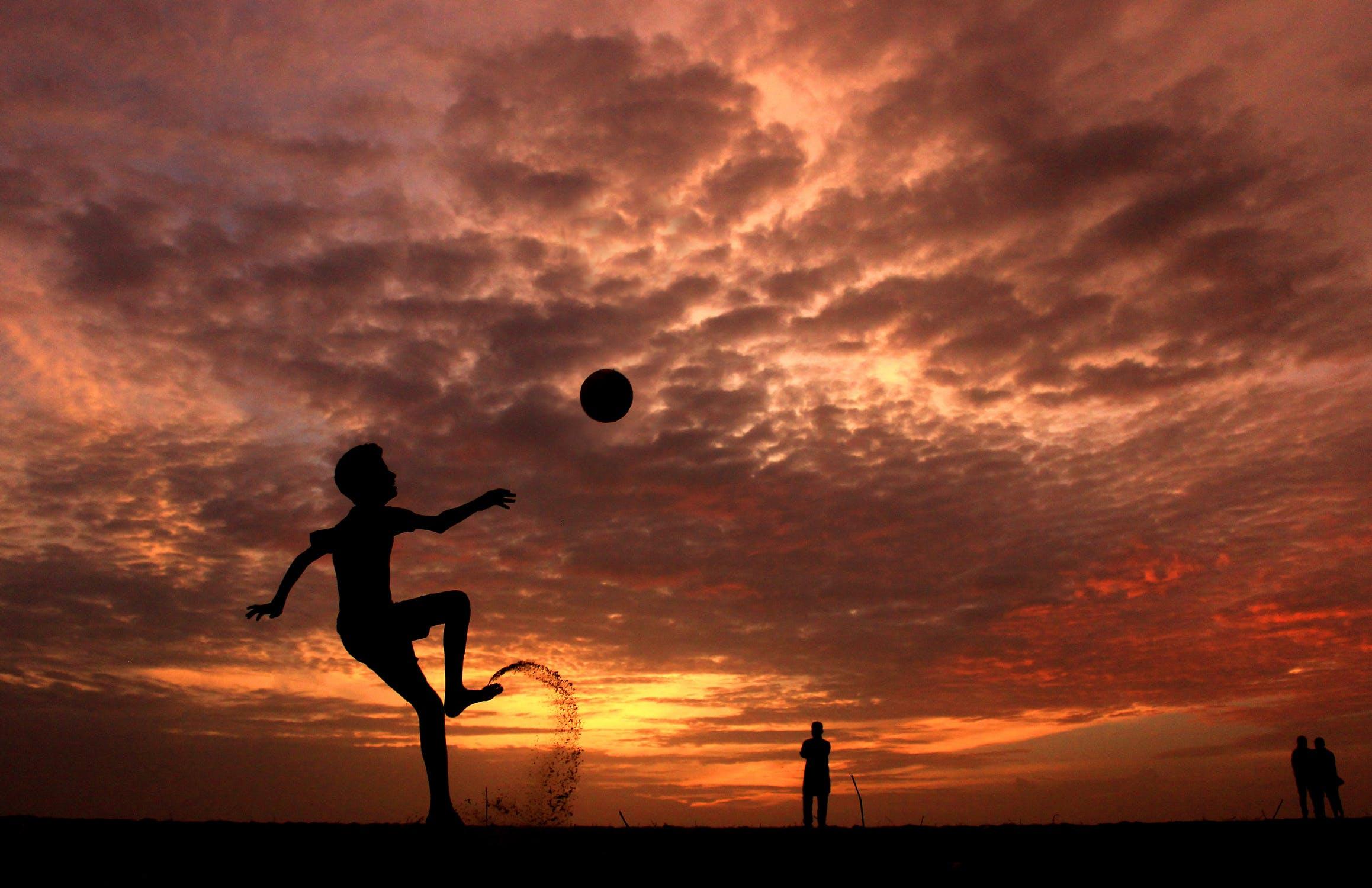 축구는 그저, 즐기는 것이다. - 세상을 다 가진 듯...