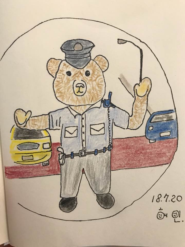 제니 베이커리의 곰돌이