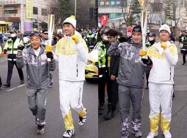 올림픽 영웅,이봉주 감독-박상영 선수가 부주자 된...